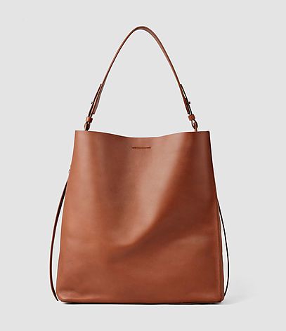 Paradise Canvas North South Tote - predominant colour: tan; occasions: casual, creative work; type of pattern: standard; style: tote; length: handle; size: standard; material: leather; pattern: plain; finish: plain; season: s/s 2016; wardrobe: highlight