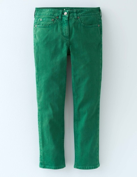 Cropped Jean Eden Women, Eden - style: straight leg; pattern: plain; pocket detail: traditional 5 pocket; waist: mid/regular rise; predominant colour: emerald green; occasions: casual; length: calf length; fibres: cotton - stretch; texture group: denim; pattern type: fabric; season: s/s 2016; wardrobe: highlight