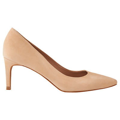 Heylor Stiletto Court Shoes - predominant colour: camel; occasions: occasion, creative work; material: suede; heel height: mid; heel: stiletto; toe: pointed toe; style: courts; finish: plain; pattern: plain; season: a/w 2015