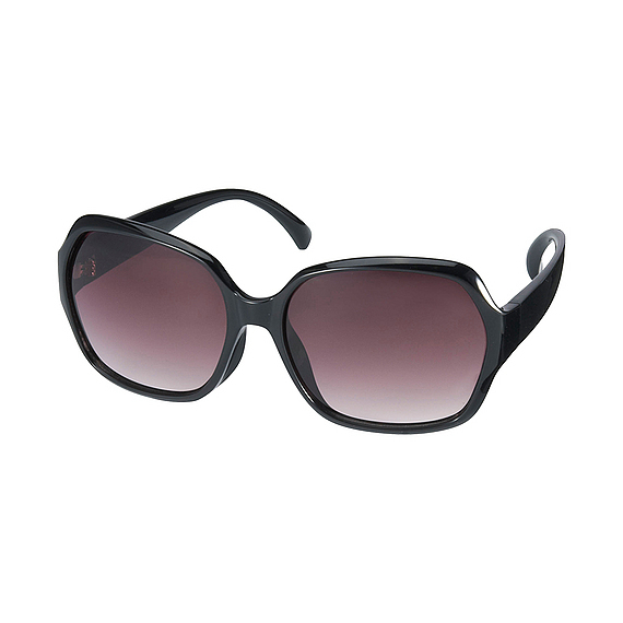 Women Squared Sunglasses Black - predominant colour: black; style: square; size: large; material: plastic/rubber; pattern: plain; occasions: holiday; finish: plain; season: s/s 2016; wardrobe: basic