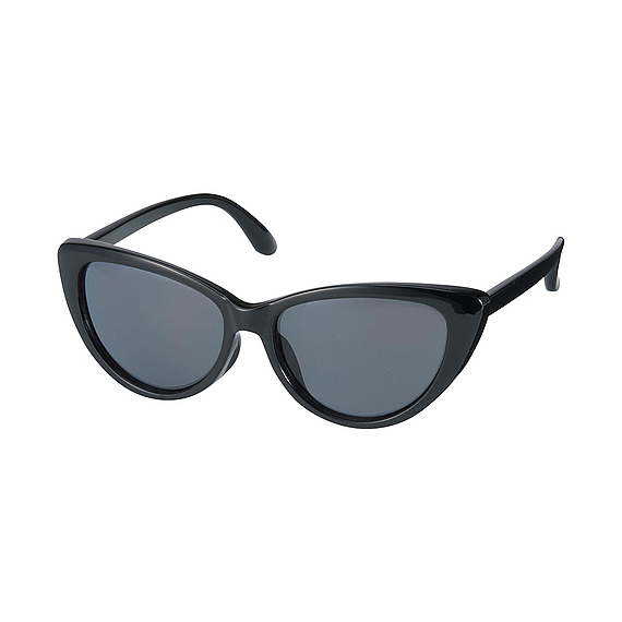 Women Sharp Cats Eye Sunglasses Black - predominant colour: black; style: cateye; size: standard; material: plastic/rubber; pattern: plain; occasions: holiday; finish: plain; season: s/s 2016; wardrobe: basic