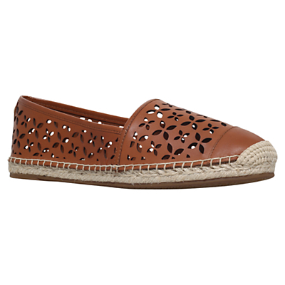 Darci Espadrilles - predominant colour: tan; occasions: casual, holiday; material: leather; heel height: flat; toe: round toe; finish: plain; pattern: plain; style: espadrilles; season: s/s 2016; wardrobe: highlight