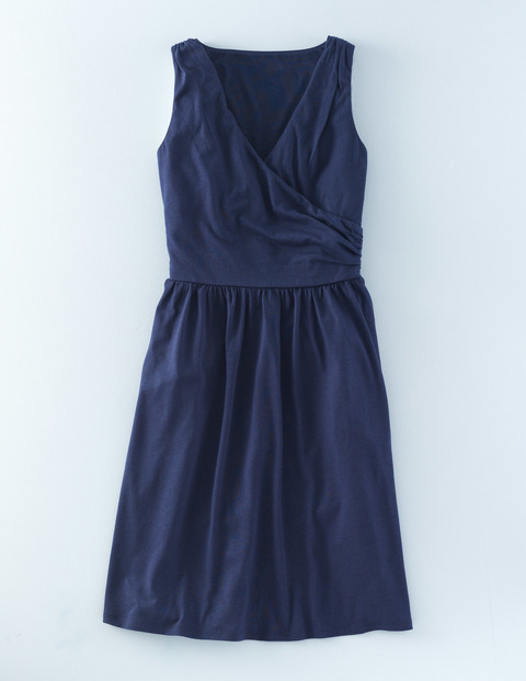 Pretty Ruched Wrap Dress Navy Women, Navy - style: faux wrap/wrap; neckline: v-neck; pattern: plain; sleeve style: sleeveless; predominant colour: navy; occasions: evening; length: just above the knee; fit: body skimming; fibres: viscose/rayon - stretch; sleeve length: sleeveless; pattern type: fabric; texture group: jersey - stretchy/drapey; season: s/s 2016; wardrobe: event