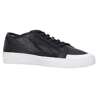 Harlen Trainers - predominant colour: black; occasions: casual, creative work; material: leather; heel height: flat; toe: round toe; style: trainers; finish: plain; pattern: plain; season: s/s 2016; wardrobe: basic