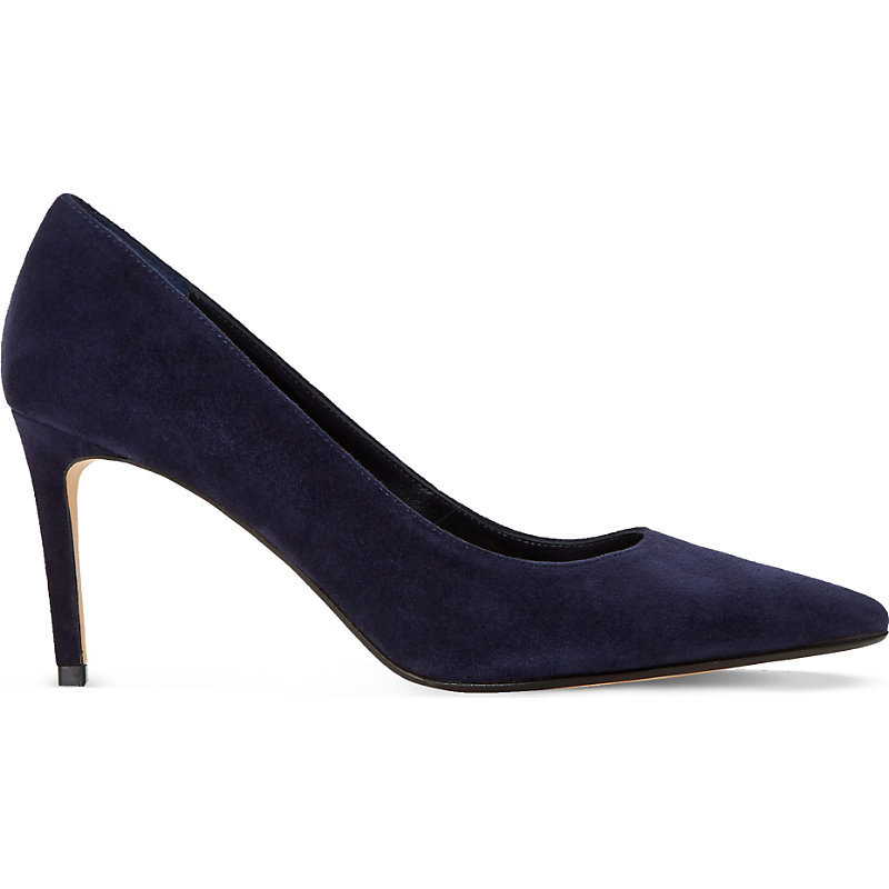 Abbigail Suede Courts, Women's, Eur 39 / 6 Uk Women, Navy Suede - predominant colour: navy; occasions: evening; material: suede; heel height: high; heel: stiletto; toe: pointed toe; style: courts; finish: plain; pattern: plain; season: s/s 2016; wardrobe: event