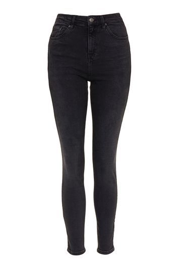 Tall Washed Black Cain Jean - style: skinny leg; pattern: plain; pocket detail: traditional 5 pocket; waist: mid/regular rise; predominant colour: black; occasions: casual, evening, creative work; length: ankle length; fibres: cotton - stretch; texture group: denim; pattern type: fabric; trends: rebel girl; season: s/s 2016; wardrobe: basic