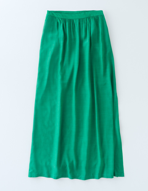 Juliette Maxi Skirt Eden Women, Eden - length: below the knee; pattern: plain; style: full/prom skirt; fit: loose/voluminous; waist: high rise; predominant colour: emerald green; occasions: casual, creative work; fibres: viscose/rayon - 100%; hip detail: soft pleats at hip/draping at hip/flared at hip; pattern type: fabric; texture group: other - light to midweight; season: s/s 2016