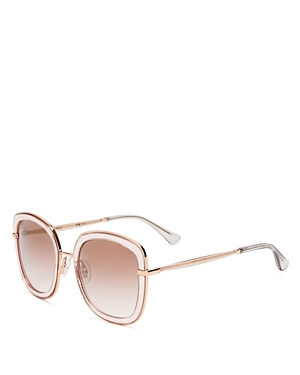 Glenns Sunglasses, 52mm - predominant colour: blush; occasions: casual, holiday; style: square; size: large; material: plastic/rubber; pattern: plain; finish: plain; season: s/s 2016; wardrobe: basic
