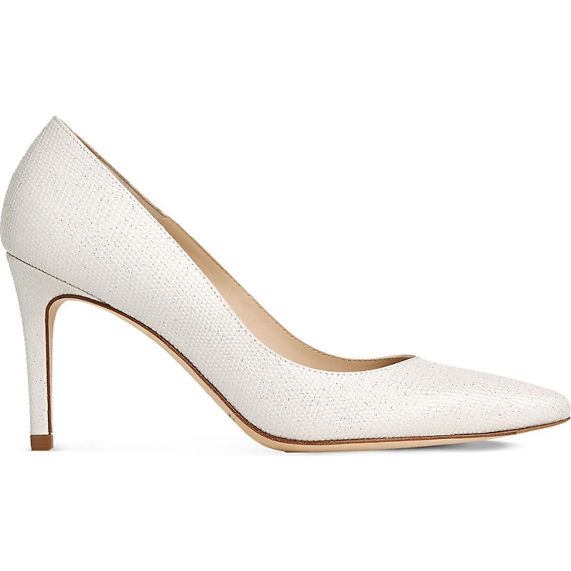 Floret Leather Courts, Women's, Eur 41 / 8 Uk Women, Whi Ivory - predominant colour: ivory/cream; occasions: evening; material: leather; heel height: high; heel: stiletto; toe: pointed toe; style: courts; finish: plain; pattern: plain; season: s/s 2016; wardrobe: event