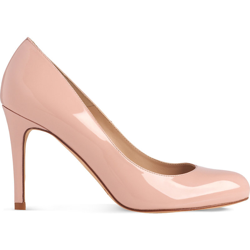 Stila Patent Leather Courts, Women's, Eur 37 / 4 Uk Women, Pin Marshmallow - predominant colour: blush; occasions: evening; material: leather; heel height: high; heel: stiletto; toe: pointed toe; style: courts; finish: patent; pattern: plain; season: s/s 2016