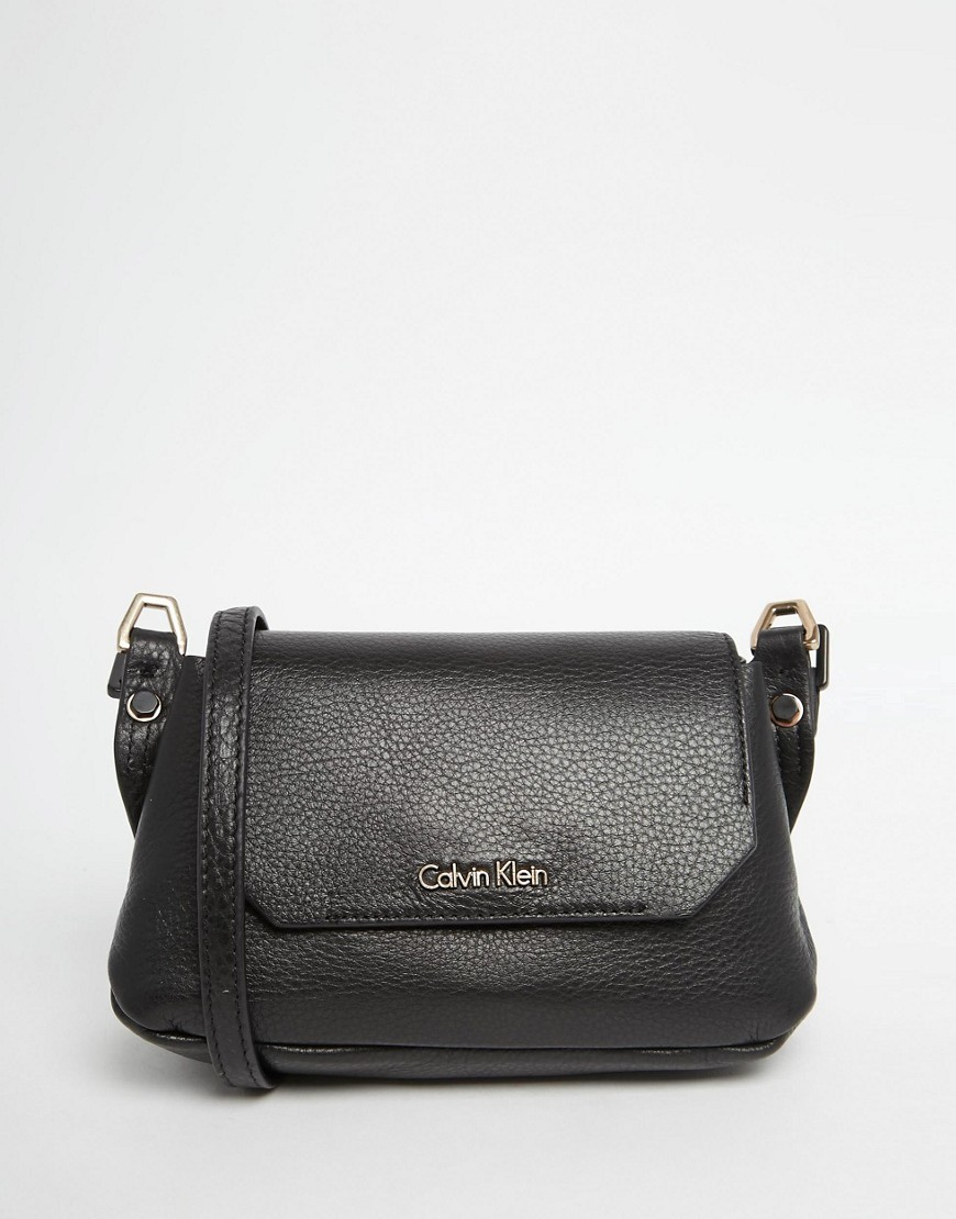 Clutch Bag Wine - predominant colour: black; occasions: casual, creative work; type of pattern: standard; style: messenger; length: across body/long; size: standard; material: leather; pattern: plain; finish: plain; season: s/s 2016; wardrobe: basic