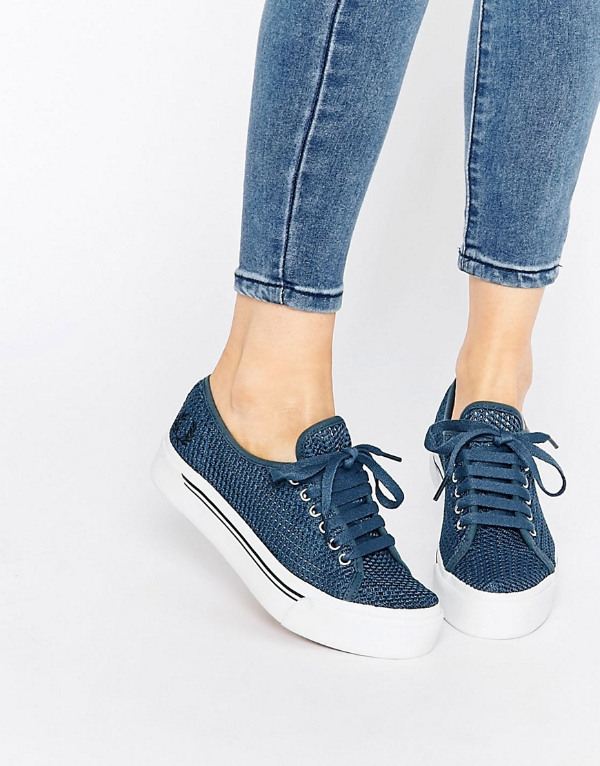 Phoenix Flatform Mesh Plimsoll Trainers Navy - predominant colour: navy; occasions: casual, creative work; material: fabric; heel height: flat; toe: round toe; style: trainers; finish: plain; pattern: plain; shoe detail: moulded soul; season: s/s 2016; wardrobe: highlight