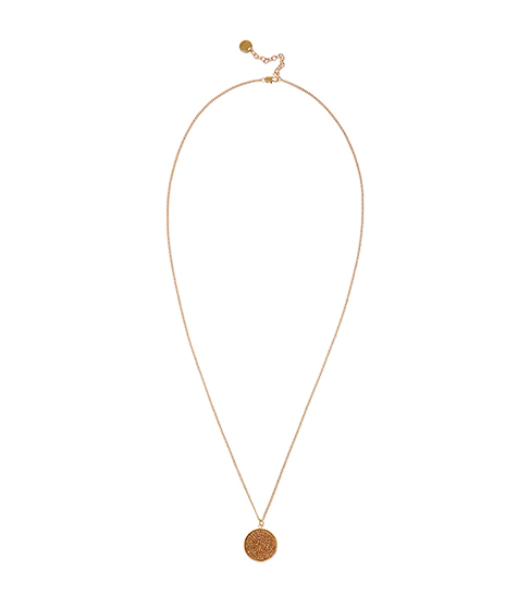 Nikita Pendant With Crystals From Swarovski - predominant colour: gold; occasions: evening, occasion; style: pendant; length: mid; size: standard; material: chain/metal; finish: metallic; embellishment: crystals/glass; season: s/s 2016