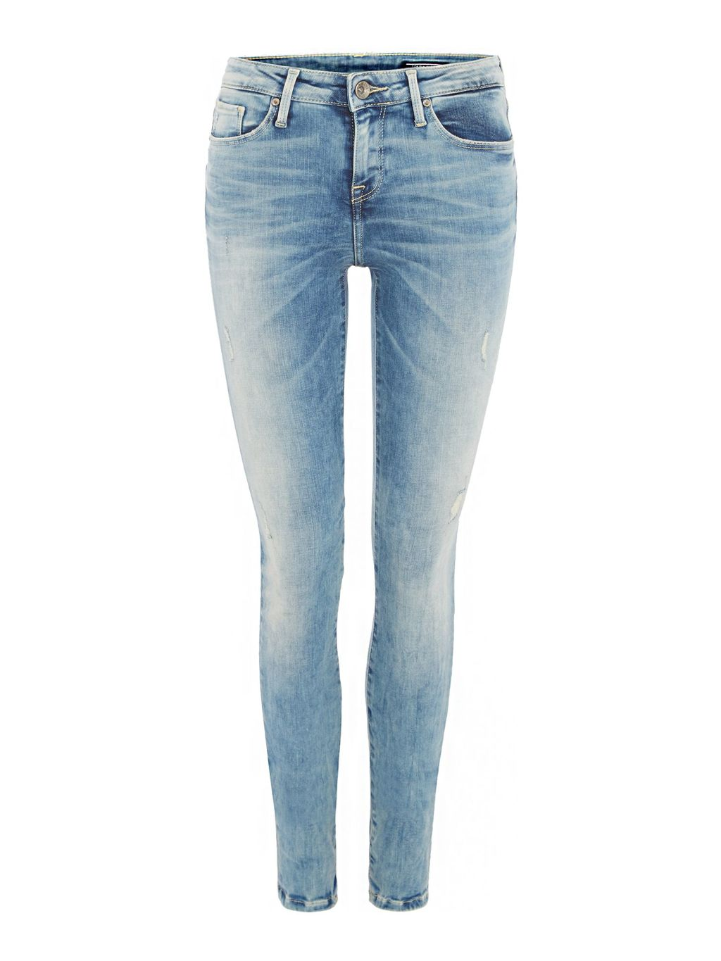 Como Nora Jeans, Navy - style: skinny leg; length: standard; pattern: plain; pocket detail: traditional 5 pocket; waist: mid/regular rise; predominant colour: pale blue; occasions: casual; fibres: cotton - stretch; jeans detail: whiskering; texture group: denim; pattern type: fabric; season: s/s 2016; wardrobe: basic