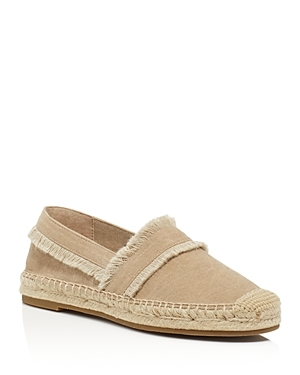 Vivienne Fringe Espadrille Flats - predominant colour: stone; occasions: casual, holiday; material: fabric; heel height: flat; toe: round toe; finish: plain; pattern: plain; style: espadrilles; season: s/s 2016; wardrobe: highlight