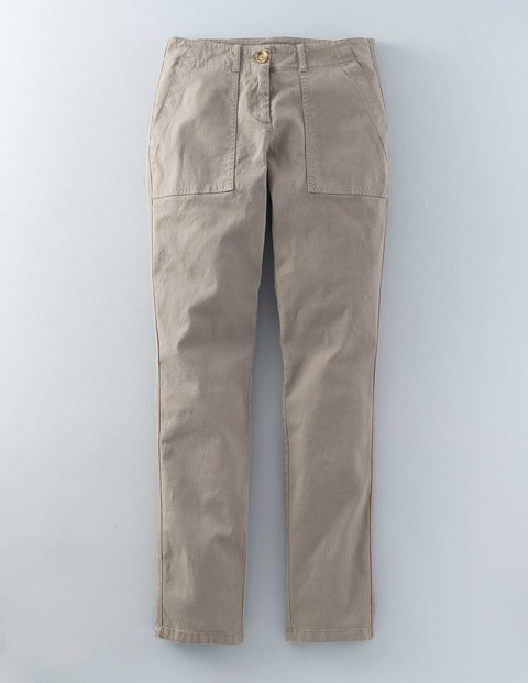 Lizzie Trouser Khaki Women, Khaki - length: standard; pattern: plain; pocket detail: pockets at the sides; waist: mid/regular rise; predominant colour: stone; occasions: casual; style: chino; fibres: cotton - mix; texture group: cotton feel fabrics; fit: slim leg; pattern type: fabric; season: s/s 2016; wardrobe: basic
