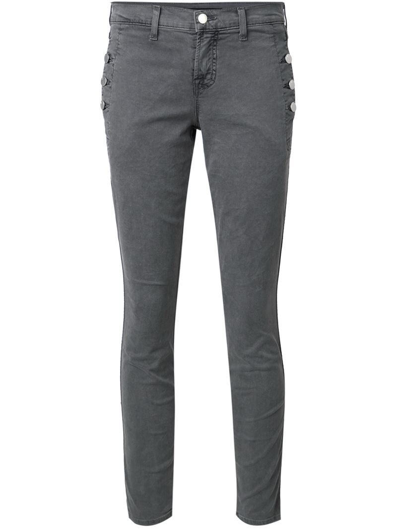 Skinny Jeans, Women's, Green - style: skinny leg; length: standard; pattern: plain; waist: mid/regular rise; predominant colour: dark green; occasions: casual; fibres: cotton - 100%; texture group: denim; pattern type: fabric; season: s/s 2016