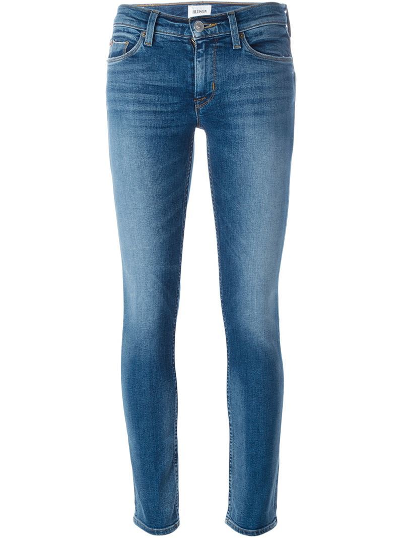 'tilda Selvage' Cigarette Jeans, Women's, Blue - style: skinny leg; length: standard; pattern: plain; waist: low rise; pocket detail: traditional 5 pocket; predominant colour: denim; occasions: casual; fibres: cotton - stretch; texture group: denim; pattern type: fabric; season: s/s 2016; wardrobe: basic