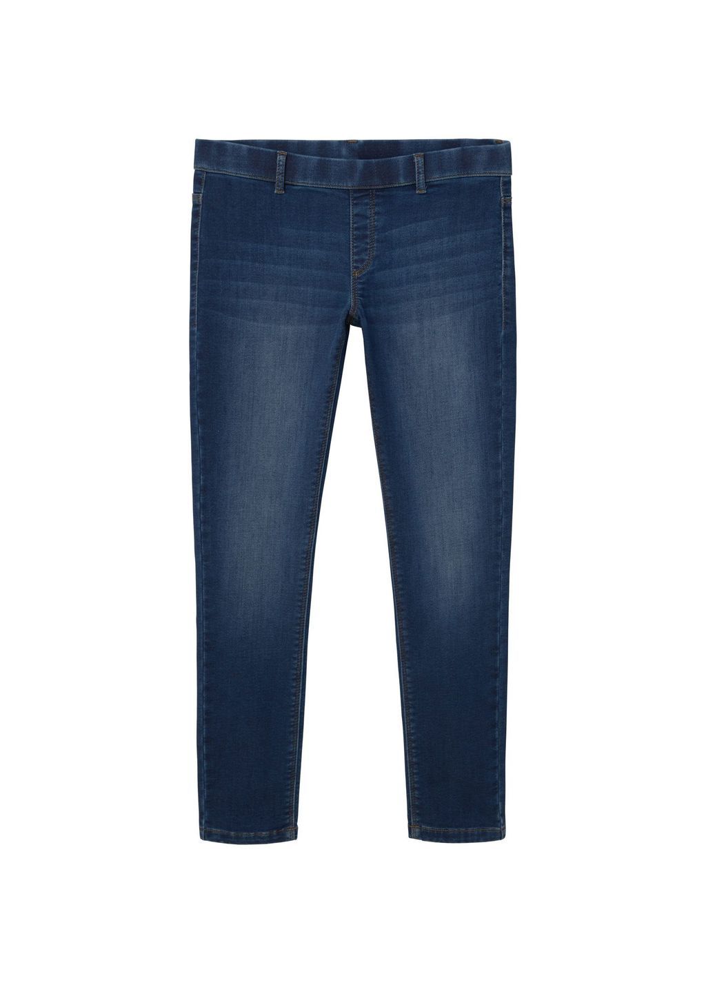 Dark Runner Jeggings, Blue - length: standard; pattern: plain; style: jeggings; waist: mid/regular rise; predominant colour: navy; occasions: casual; fibres: cotton - stretch; jeans detail: whiskering, shading down centre of thigh, dark wash; texture group: denim; pattern type: fabric; season: s/s 2016; wardrobe: basic