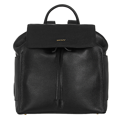 Chelsea Vintage Leather Backpack - predominant colour: black; occasions: casual, creative work; type of pattern: standard; style: rucksack; length: rucksack; size: standard; material: leather; pattern: plain; finish: plain; season: s/s 2016; wardrobe: basic