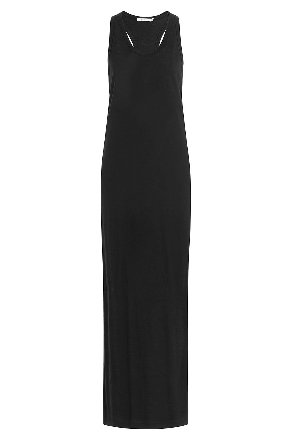 Classic Tank Jersey Maxi Dress Black - neckline: round neck; pattern: plain; sleeve style: sleeveless; style: maxi dress; length: ankle length; predominant colour: black; fit: body skimming; fibres: viscose/rayon - 100%; sleeve length: sleeveless; occasions: holiday; pattern type: fabric; texture group: jersey - stretchy/drapey; season: s/s 2016; wardrobe: holiday