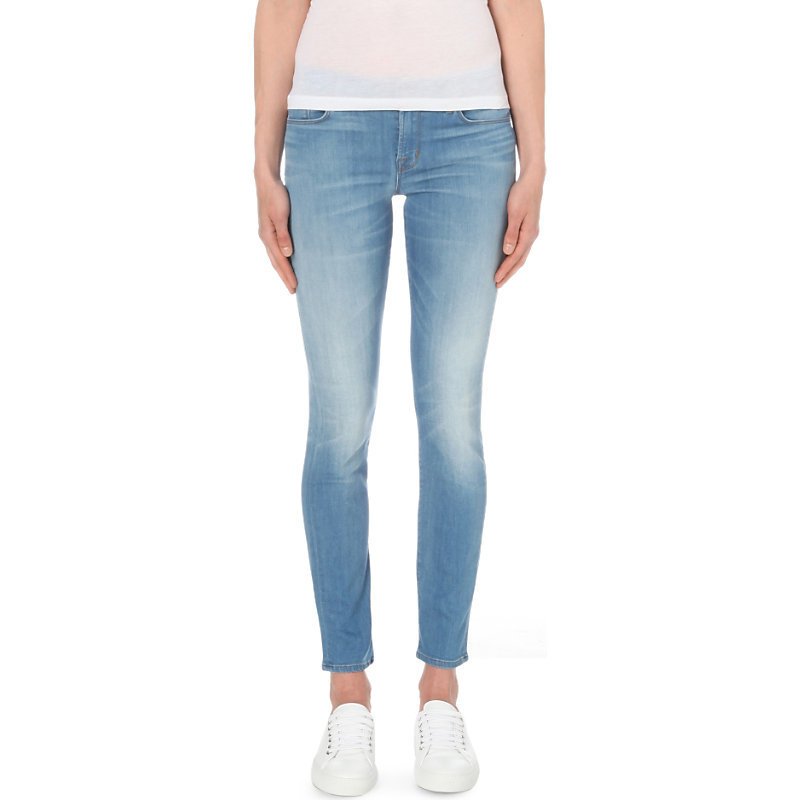 811 Skinny Mid Rise Jeans, Women's, Vestige - style: skinny leg; length: standard; pattern: plain; pocket detail: traditional 5 pocket; waist: mid/regular rise; predominant colour: denim; occasions: casual; fibres: cotton - stretch; jeans detail: whiskering, shading down centre of thigh; texture group: denim; pattern type: fabric; season: s/s 2016