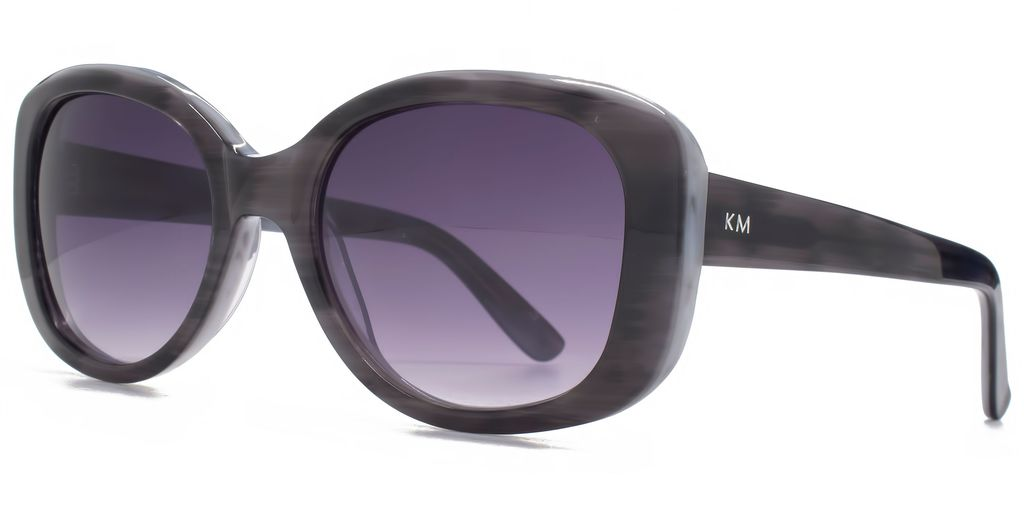 26 Kmp001 Grey Glam Sunglasses - predominant colour: black; occasions: casual, holiday; style: square; size: large; material: plastic/rubber; pattern: plain; finish: plain; season: s/s 2016