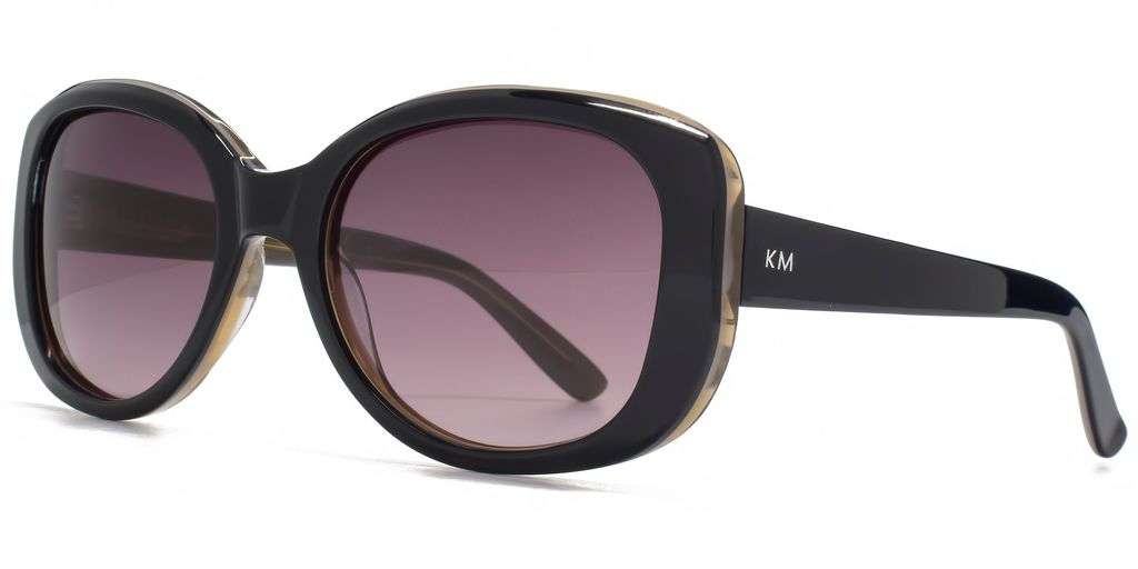 26 Kmp001 Black Glam Sunglasses - predominant colour: black; occasions: casual, holiday; style: square; size: standard; material: plastic/rubber; pattern: plain; finish: plain; season: s/s 2016