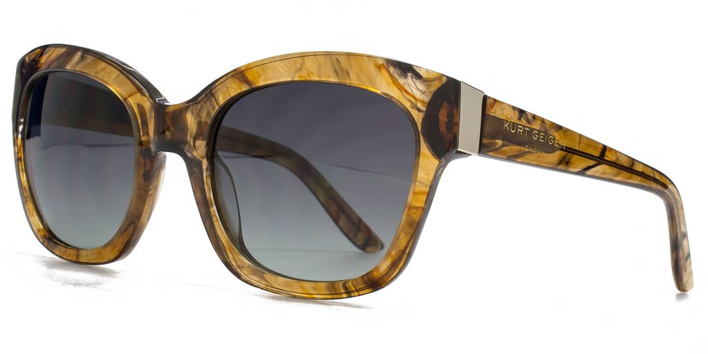 26 Kgp002 Brown Square Sunglasses - predominant colour: camel; occasions: casual, holiday; style: square; size: large; material: plastic/rubber; pattern: tortoiseshell; finish: plain; season: s/s 2016; wardrobe: basic
