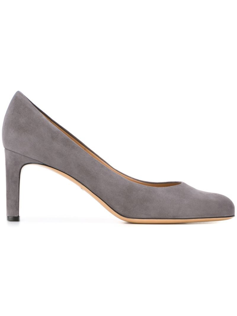 'susi' Pumps, Women's, Size: 8.5, Grey - predominant colour: light grey; occasions: evening; material: shearling; heel height: high; heel: stiletto; toe: round toe; style: courts; finish: plain; pattern: plain; season: s/s 2016; wardrobe: event