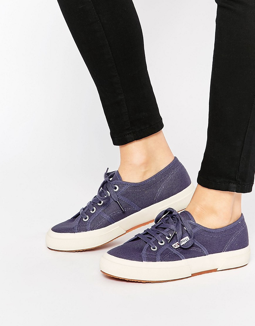 2750 Cotu Sneaker Trainers Blue Shadow - predominant colour: navy; occasions: casual, activity; material: fabric; heel height: flat; toe: round toe; style: trainers; finish: plain; pattern: plain; shoe detail: platform; season: s/s 2016