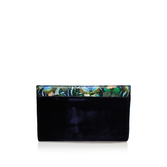 Hoxton Butterfly Clutch - predominant colour: black; occasions: evening; type of pattern: standard; style: clutch; length: hand carry; size: small; material: faux leather; pattern: florals; finish: plain; season: s/s 2016; wardrobe: event
