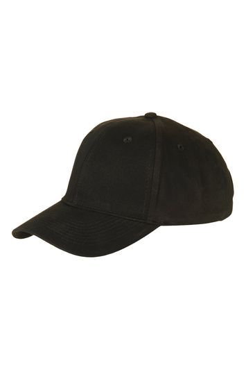 Plain Black Unstructured Cap - predominant colour: black; occasions: casual; type of pattern: standard; style: cap; size: small; material: fabric; pattern: plain; season: s/s 2016
