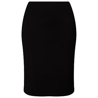 Siobhan Skirt, Black - pattern: plain; style: pencil; fit: tailored/fitted; waist: mid/regular rise; predominant colour: black; occasions: work, creative work; length: just above the knee; fibres: polyester/polyamide - stretch; texture group: jersey - clingy; pattern type: fabric; season: s/s 2016; wardrobe: basic