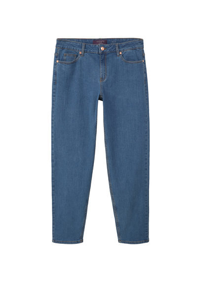 Relaxed Ely Jeans - length: standard; pattern: plain; style: slim leg; waist: mid/regular rise; predominant colour: denim; occasions: casual; fibres: cotton - stretch; texture group: denim; pattern type: fabric; season: s/s 2016; wardrobe: basic