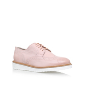 Knox - predominant colour: blush; occasions: casual, creative work; material: leather; heel height: flat; toe: round toe; style: loafers; finish: plain; pattern: plain; season: s/s 2016; wardrobe: basic