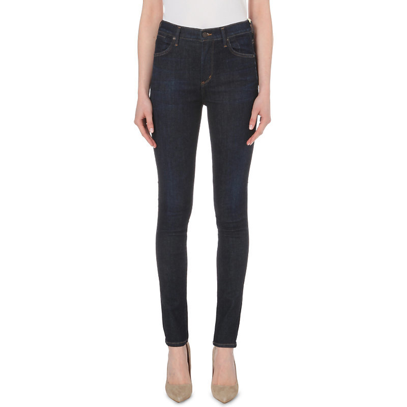 Carlie Super Skinny High Rise Jeans, Women's, Foxy - style: skinny leg; length: standard; pattern: plain; pocket detail: traditional 5 pocket; waist: mid/regular rise; predominant colour: black; occasions: casual; fibres: cotton - stretch; texture group: denim; pattern type: fabric; season: s/s 2016; wardrobe: basic