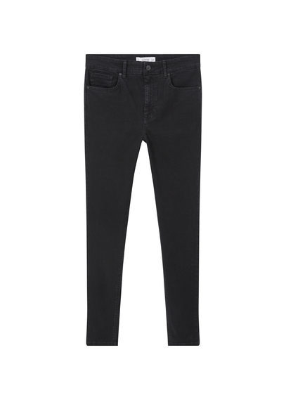 Skinny Noa Jeans - style: skinny leg; length: standard; pattern: plain; waist: mid/regular rise; predominant colour: denim; occasions: casual; fibres: cotton - stretch; jeans detail: dark wash; texture group: denim; pattern type: fabric; season: s/s 2016; wardrobe: basic