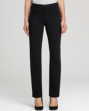 Petites Sherri Skinny Jeans - style: skinny leg; length: standard; pattern: plain; waist: high rise; pocket detail: traditional 5 pocket; predominant colour: black; occasions: casual, evening, creative work; fibres: cotton - stretch; texture group: denim; pattern type: fabric; season: s/s 2016; wardrobe: basic
