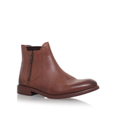 Algoma - predominant colour: tan; occasions: casual, creative work; material: leather; heel height: flat; heel: standard; toe: round toe; boot length: ankle boot; style: standard; finish: plain; pattern: plain; season: s/s 2016; wardrobe: highlight