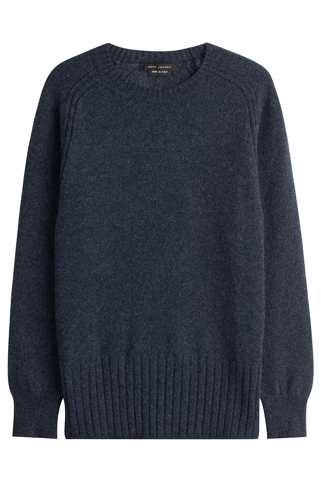 Cashmere Pullover - pattern: plain; style: standard; predominant colour: navy; occasions: casual; length: standard; fit: slim fit; neckline: crew; fibres: cashmere - 100%; sleeve length: long sleeve; sleeve style: standard; texture group: knits/crochet; pattern type: knitted - fine stitch; season: s/s 2016; wardrobe: investment