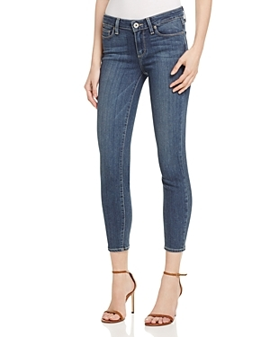 Verdugo Crop Jeans In Silas - style: skinny leg; pattern: plain; pocket detail: traditional 5 pocket; waist: mid/regular rise; predominant colour: denim; occasions: casual; length: ankle length; fibres: cotton - stretch; texture group: denim; pattern type: fabric; season: s/s 2016; wardrobe: basic