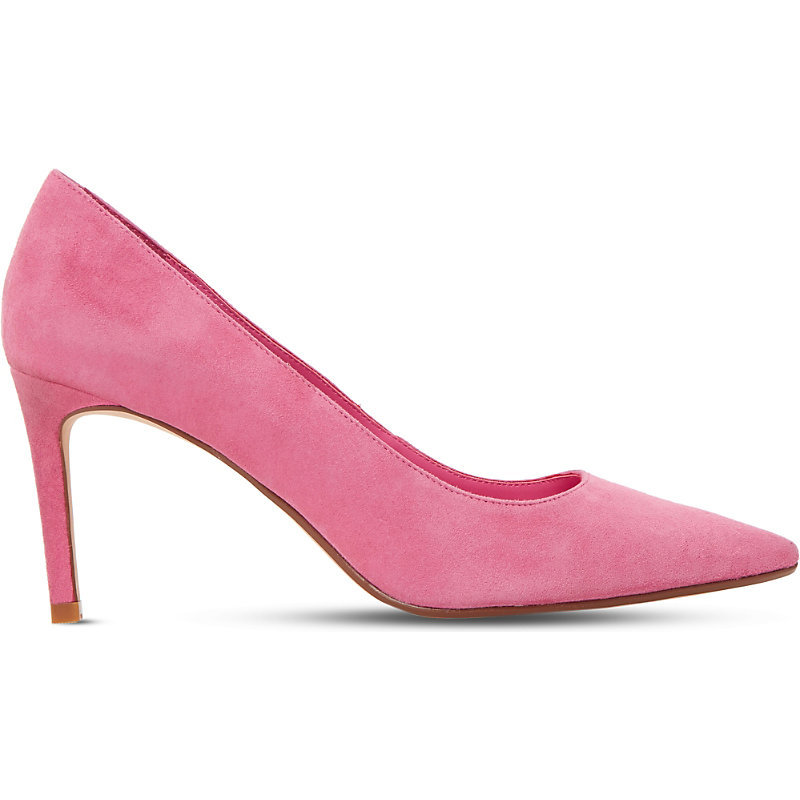 Abbigail Suede Courts, Women's, Eur 36 / 3 Uk Women, Dark Pink - predominant colour: pink; occasions: occasion, creative work; material: suede; heel height: mid; heel: stiletto; toe: pointed toe; style: courts; finish: plain; pattern: plain; season: s/s 2016; wardrobe: highlight