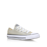 Ct Metallic Canvas Low - secondary colour: white; predominant colour: nude; occasions: casual; material: fabric; heel height: flat; toe: round toe; style: trainers; finish: plain; pattern: plain; multicoloured: multicoloured; season: s/s 2016; wardrobe: basic