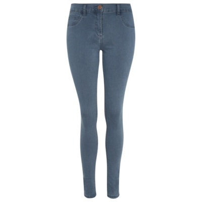 Wonderfit Skinny Jeans Light Denim - style: skinny leg; length: standard; pattern: plain; pocket detail: traditional 5 pocket; waist: mid/regular rise; predominant colour: navy; occasions: casual; fibres: cotton - stretch; texture group: denim; pattern type: fabric; season: s/s 2016; wardrobe: basic