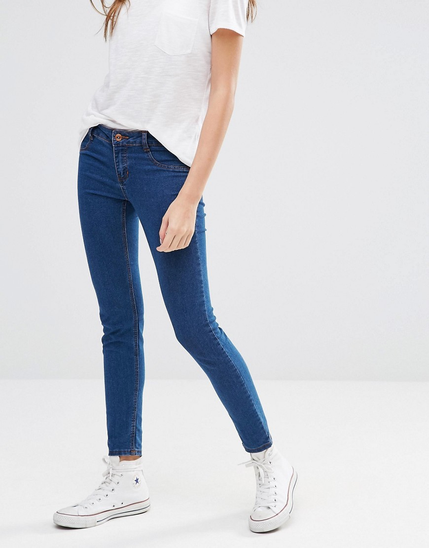 Skinny Jegging Tint Blue - length: standard; pattern: plain; style: jeggings; pocket detail: traditional 5 pocket; waist: mid/regular rise; predominant colour: denim; occasions: casual; fibres: cotton - stretch; texture group: denim; pattern type: fabric; season: s/s 2016; wardrobe: basic