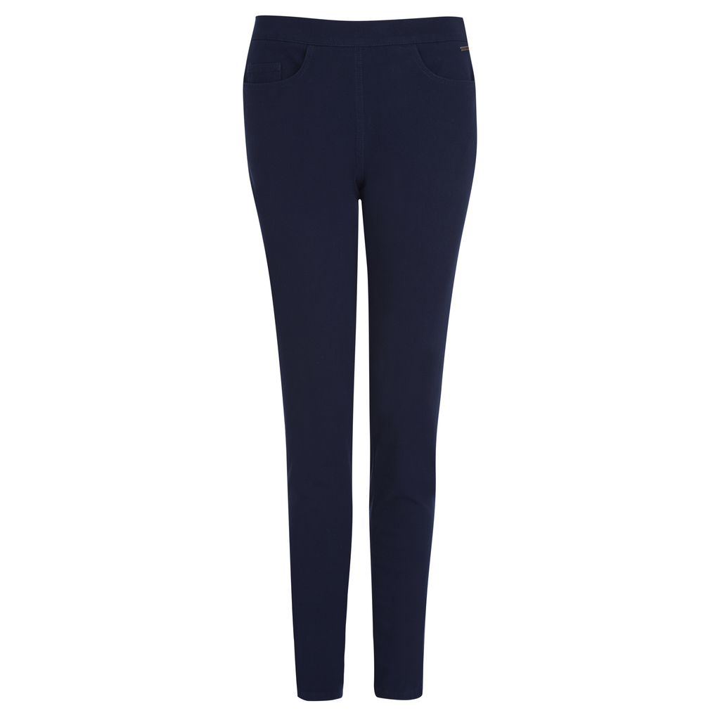 Side Zip Skinny Jeans - style: skinny leg; length: standard; pattern: plain; pocket detail: traditional 5 pocket; waist: mid/regular rise; predominant colour: navy; occasions: casual, evening, creative work; fibres: cotton - stretch; jeans detail: dark wash; texture group: denim; pattern type: fabric; season: s/s 2016