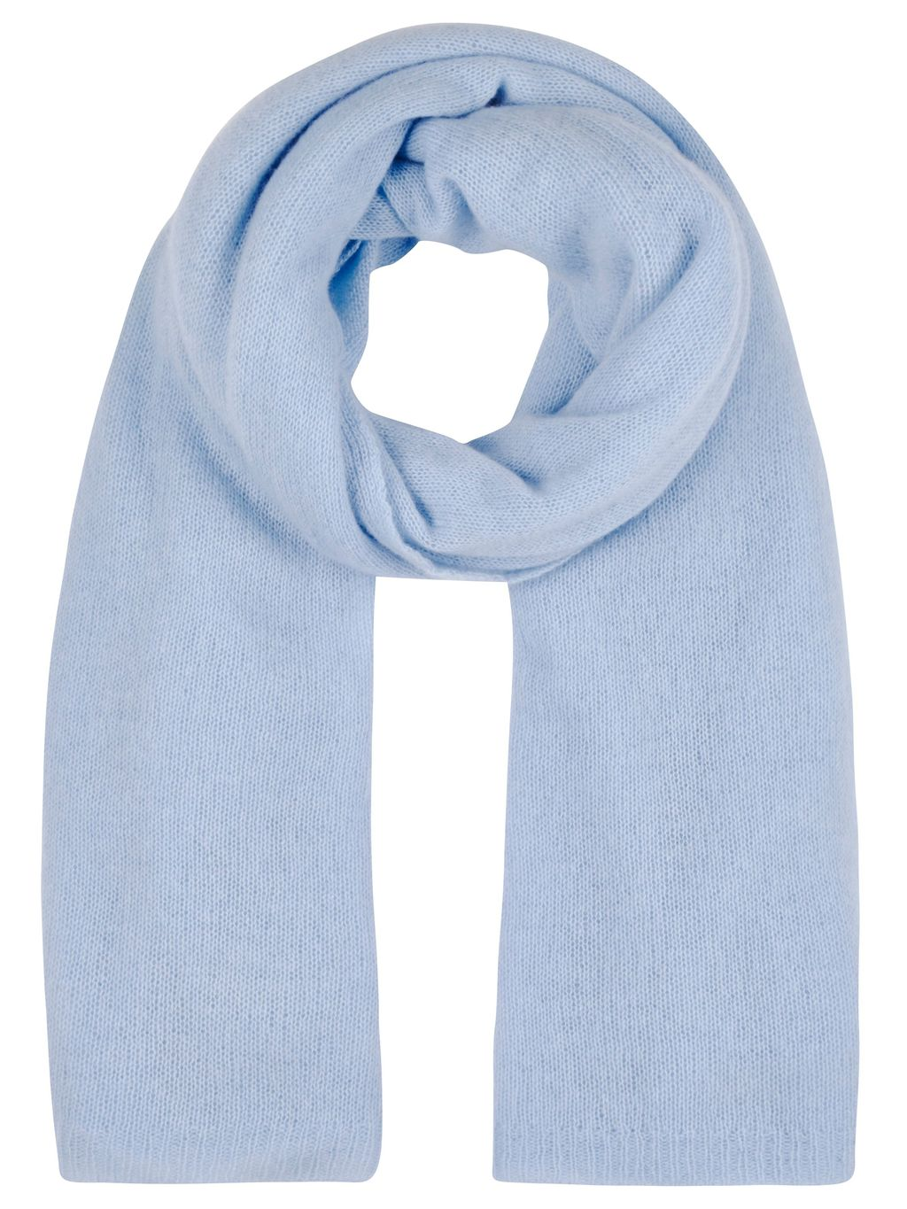 Winser Cashmere Wrap, Blue - predominant colour: pale blue; occasions: casual; type of pattern: standard; style: regular; size: standard; pattern: plain; material: cashmere; season: s/s 2016; wardrobe: highlight
