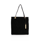 Lyle Tote - predominant colour: black; occasions: casual, work, creative work; type of pattern: standard; style: shoulder; length: shoulder (tucks under arm); size: standard; material: leather; pattern: plain; finish: plain; season: s/s 2016; wardrobe: investment
