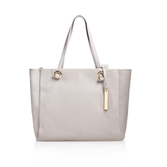 Livi Tote - predominant colour: stone; occasions: casual, creative work; type of pattern: standard; style: tote; length: handle; size: standard; material: leather; pattern: plain; finish: plain; season: s/s 2016; wardrobe: investment